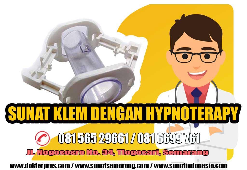 sunat klem dengan hypnoterapy