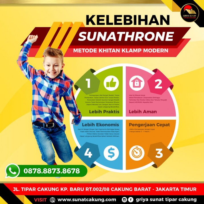 sunathrone tipar cakung